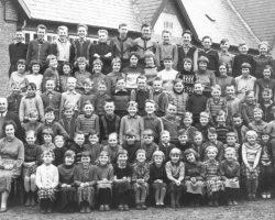 Billum skole 1958