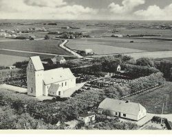 Billum Kirke Luftfoto